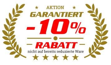 Rabatt 10%